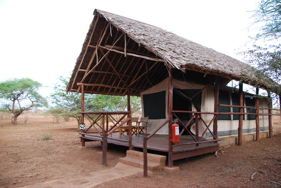 Voyager Ziwani, Tsavo West: Typical Tent