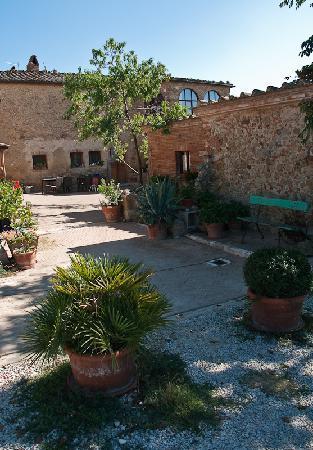 Podere Il Casale: courtyard Il Casale