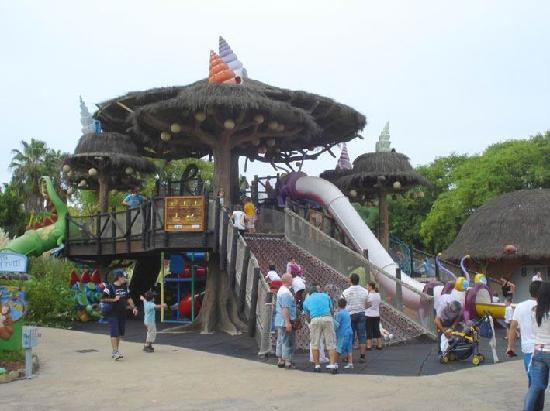 Parque Isla Magica : Fuente de la Juventud