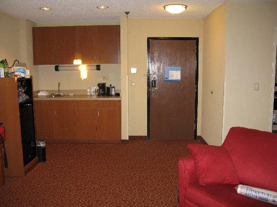 Hampton Inn Sevierville: Our Room    1