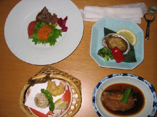 Hana Rebun: 夕食その2
