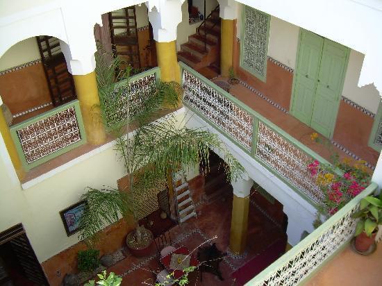 Riad Dar Nael: l'interno della riad