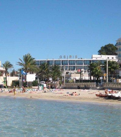 Hotel Osiris from Es Puet Beach