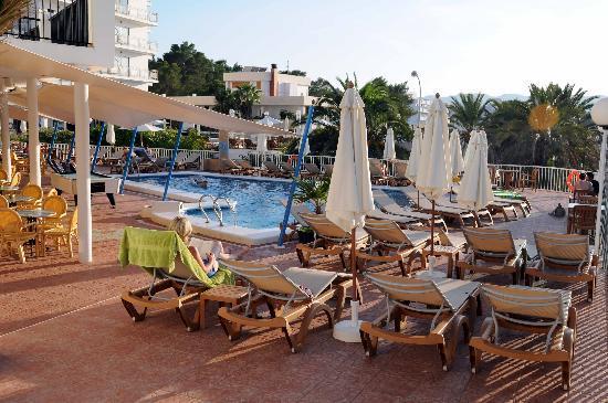 Terrace Hotel Osiris Ibiza