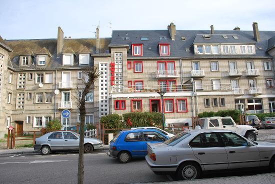 La Maison des Galets : facade cote rue
