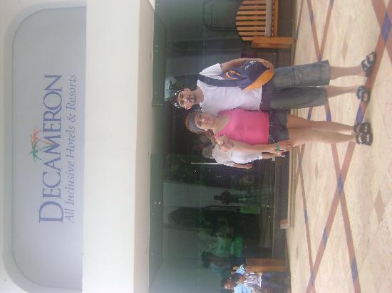 Decameron Cartagena: en las afueras del hotel
