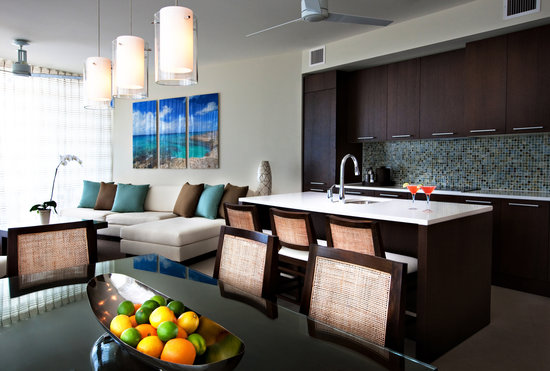 Gansevoort Turks + Caicos: One Bedroom Suite Kitchen
