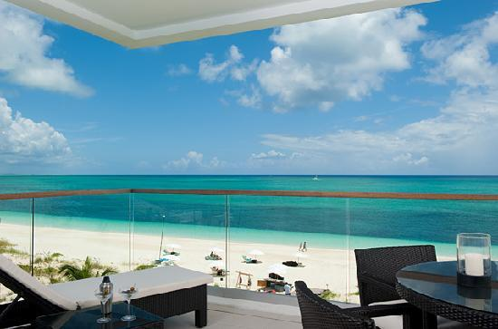 Gansevoort Turks + Caicos: One Bedroom Suite Balcony View