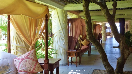 The Baobab - Baobab Beach Resort & Spa: lounge area