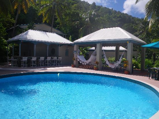 Sugar Mill Hotel: pool with hammocks