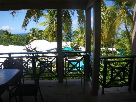 Sugar Mill Hotel: view from our private deck
