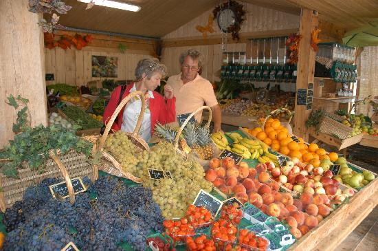 Bargemon, France : We go daily to Organic-market