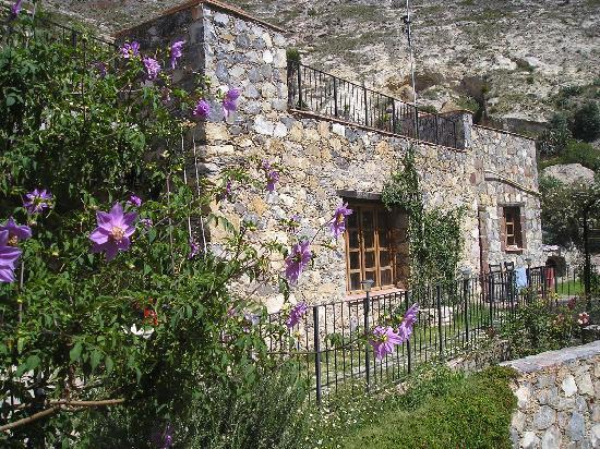 Refugio Romano: Vista desde una de las tres ventanas
