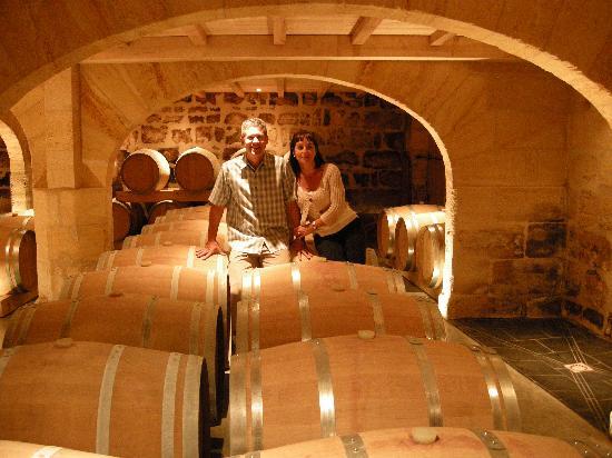 Chateau de Mole: Visitez aussi la superbe cave!