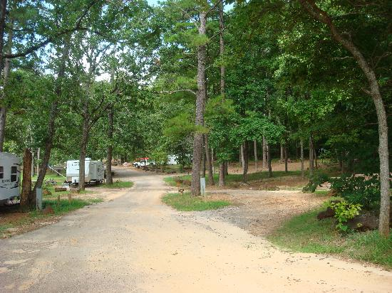 Tyler State Park Lakeview Camping Area