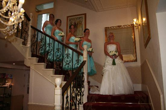 The Craiglands Hotel: A grand stairway for a grand entrance