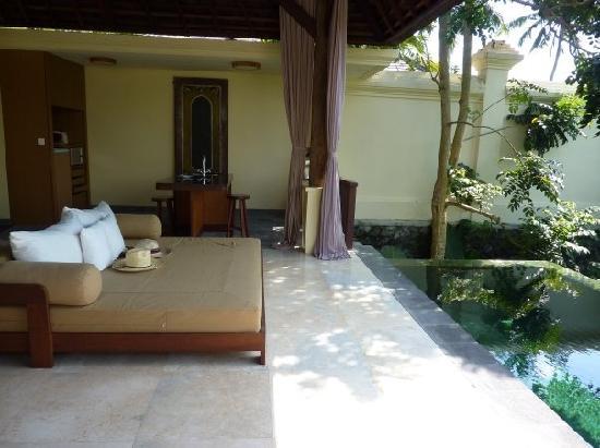 Komaneka at Bisma: Our villa pool