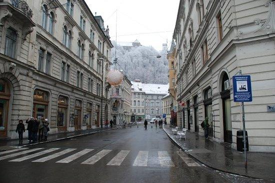 Ljubljana Old Town: Ljubliana Street