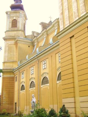 The Roman-Catholic Cathedral in Oradea, also a Basilica Minor.