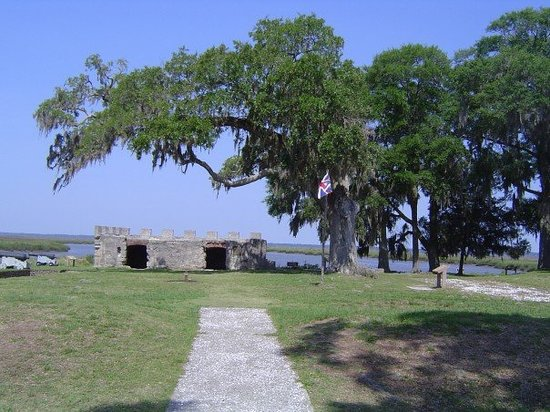 Fort Frederica National Monument : Fort Frederica