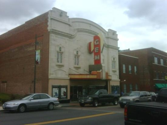 18th and Vine District: Gem Theatre.