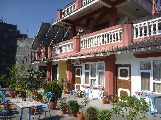 Hotel Encounter Nepal: Roof top garden