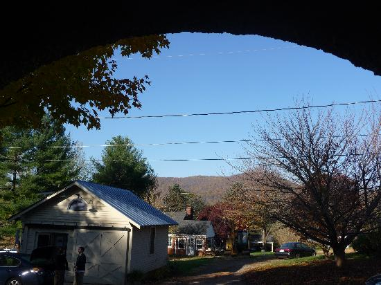 Washington, VA: View from porch