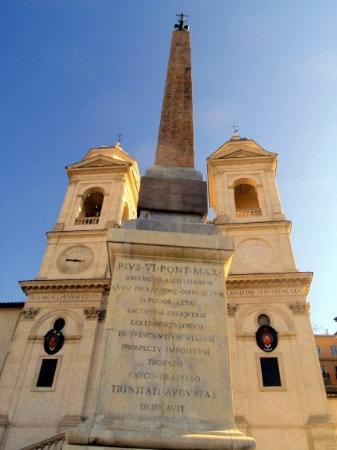 Trinità  dei Monti: The Church of the Trinità dei Monti