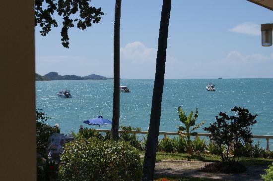 Samui Mermaid Resort: Ein Blick von unserer Terasse