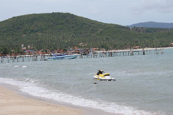 Samui Mermaid Resort: Schöner Strand