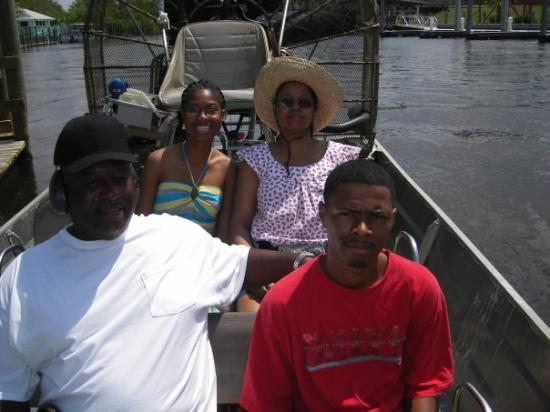 Air Boat USA: me and the fam at captin doug's