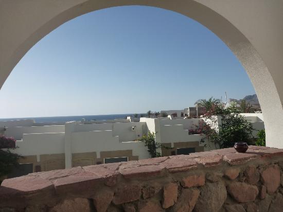 Le Meridien Dahab Resort: vue de la terrasse de la chambre