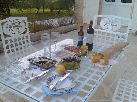 Chateau Ormes de Pez: Our picnic
