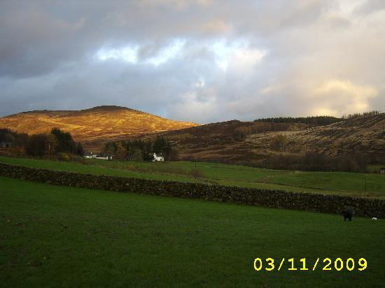 Forter Castle: The skies changed constantly,get up early and take lots of photos.