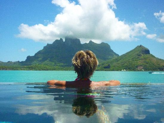 Four Seasons Resort Bora Bora: Yeah, I think I like this.