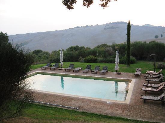 Monticchiello, Włochy: The pool