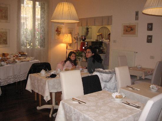 Albergo Il Focolare: Breakfast time