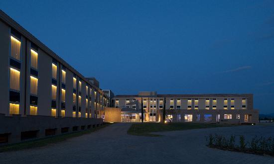 A Point Arezzo Park Hotel: La struttura ad L dell'Arezzo Park Hotel