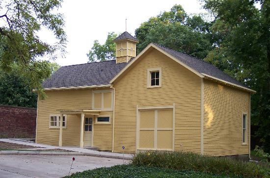 Crawfordsville, IN: The Carriage House Interpretive Center on the grounds of the General Lew Wallace Study and Museu