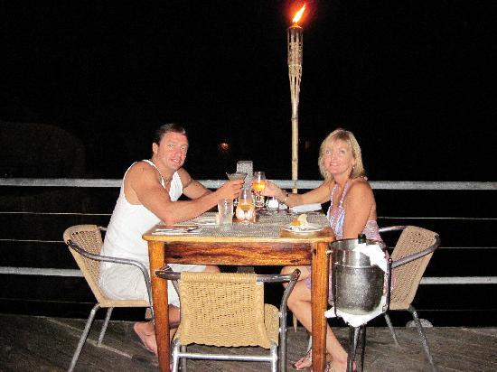 Rockhouse Restaurant: dining outside
