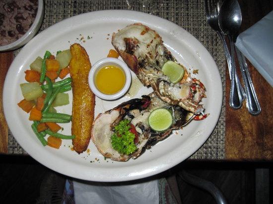 Rockhouse Restaurant: lobster dinner...yum!