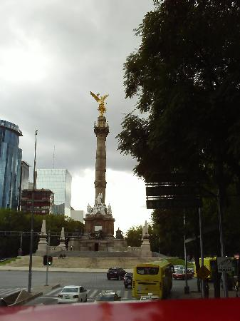 Città del Messico, Messico: El Angel dorado, simbolo de la Ciudad