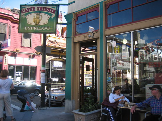 Caffe Trieste San Francisco North Beach Telegraph