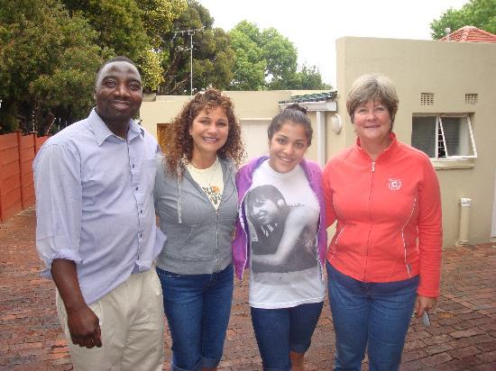 Liz at Lancaster Guesthouse : Zak, Neda, Parisa & Liz