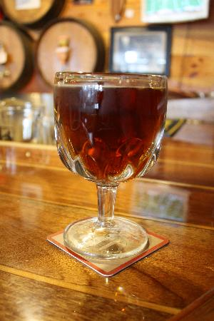 Cape Ann Brewing Company & Brewpub: Fisherman's Tea Party beer. 9% ABV
