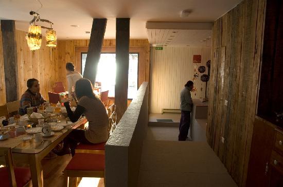 Ilaia Hotel: dining room at ilaia