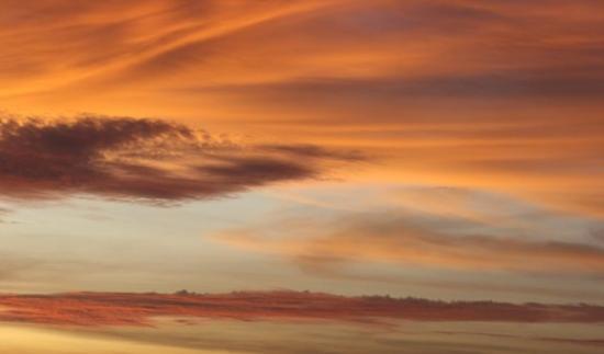 Lubango, Angola : Pôr do Sol a caminho de Benguela - Angola