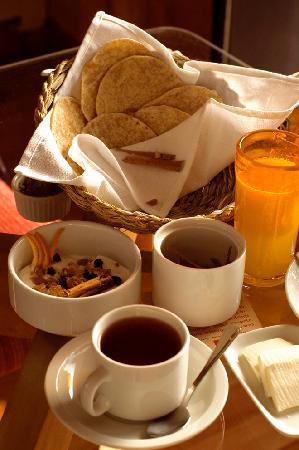 Ilaia Hotel: breakfast at ilaia