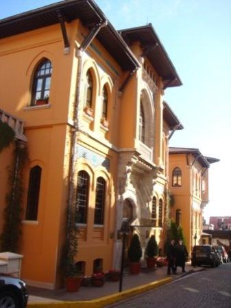 โรงแรมโฟร์ซีซั่นส์ อิสตันบูล แอท สุลต่านอาห์เหม็ด: The Four Season hotel...last time ...ia sebuah penjara near Topkapi Palace..