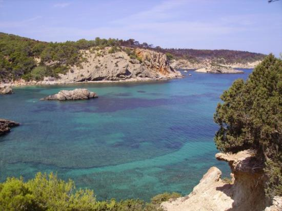 Es Canar, Spanien: bucht bei portinatx / ibiza